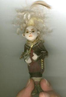 OOAK Halloween Imp Spooky Ghoul Cullen Fairy Art Sculpt Biel