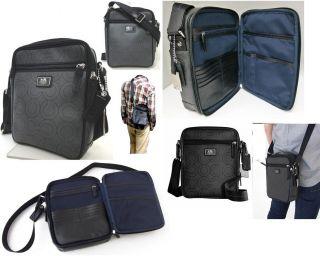 Coach OP ART COATED CANVAS FLIGHT Shoulder Crossbody bag Swingpack