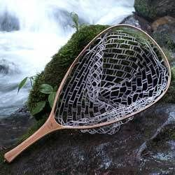 Brodin Fly Fishing Frying Pan Float Tube Ghost Landing Net
