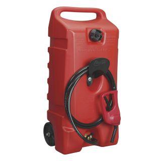 Scepter 06792 Flo NGo Duramax 14 Gallon Red Portable Wheeled Fuel