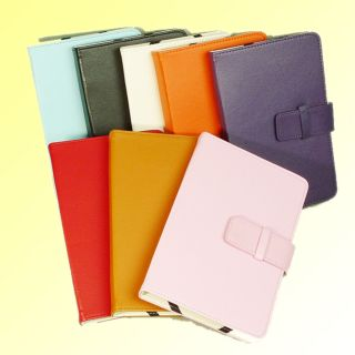 PU Folio Case for Barnes Noble Nook Color Nook eReader Nook Tablet C48