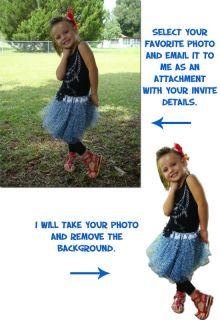 Lalaloopsy Custom Birthday Invitation Card Photo Invite Boutique Girl