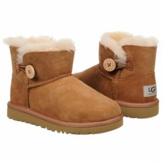 Kids UGG  Mini Bailey Button Youth Chestnut