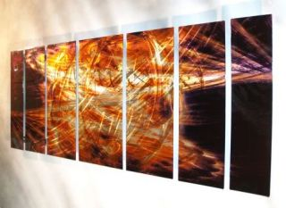 66 Abstract Painting Metal Wall Sculpture Original Art