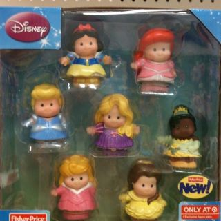 Fisher Price Little People Disney Princess Figure Pack