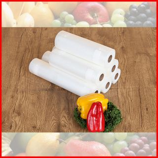 Vacuum Sealer Bag Pack Food Saver Storage Fruit Meat Fish Container