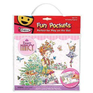 Fancy Nancy Fun Pockets Colorforms 2 Play Boards 23 Pcs That Stick