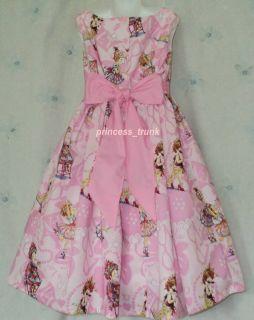 Princess Trunk RARE Fancy Nancy Blue Dress Sz 12M 10yrs Sale Price