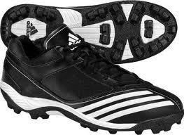 Scorch Blast Mid J Football Cleats Shoes Black Youth Sizes