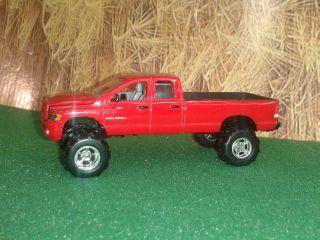 64 Farm Equipment Toy Auction Custom Dodge RAM 2500 HD w Chrome Mags