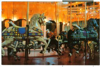Lunenburg MA Looff carousel merry go round near Fitchburg Worcester