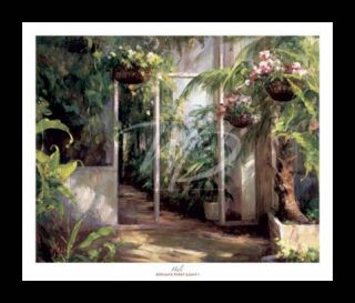 Atriums First Light I Garden Art Framed Print Hali