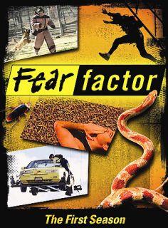 Fear Factor The First Season DVD 2006 2 Disc Set