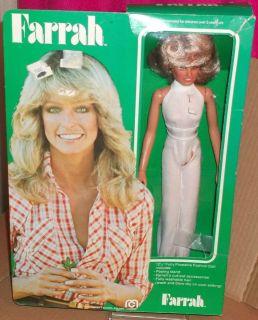 Mego Farrah Fawcett 1977 Fashion Doll Mint in Box Charlies Angels Star