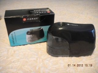 Foray Battery Operated Pencil Sharpener NEW