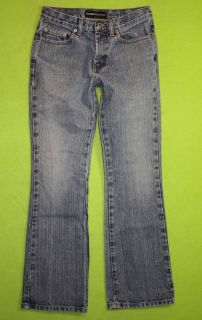 Express Flare Low Rise Sz 1 2 Short Juniors Womens Blue Jeans Denim