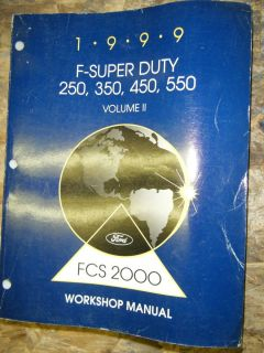 1999 FORD F SUPER DUTY 250 350 450 550 FACTORY SERVICE MANUAL 7 3
