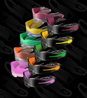 MOGO Black Flavored Performance Series Mouthguard Mouthpiece Football