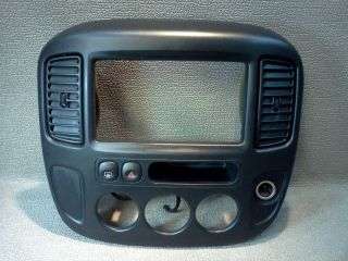 Ford Escape Radio Dash Bezel 2001 2007 Hazard Switch Mirror Defrost