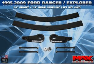1995 2009 Ford Ranger Explorer 3 Suspension Lift Kit Pro