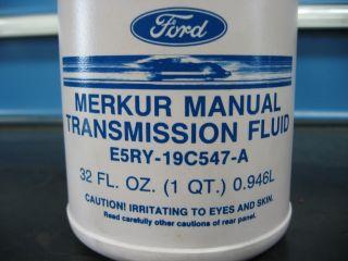 New Merkur Ford T9 Manual Transmission Fluid XR4TI