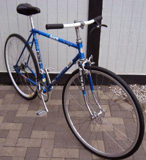 VINTAGE SCHWINN LE TOUR FIXED GEAR BIKE SINGLE SPEED BICYCLE SRAM 54CM