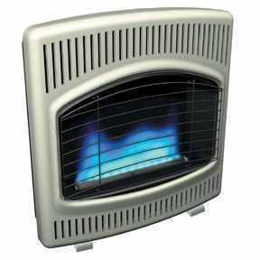 Ventless Propane Wall Heater Blue Flame Comfort Glow