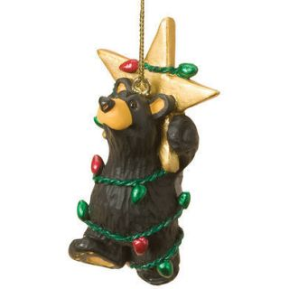 Bears Star Lights Bear Christmas Tree Ornament by Jeff Fleming