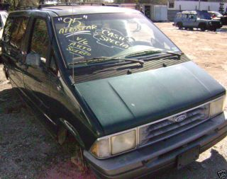 92 93 94 95 Ford Aerostar Automatic Transmission