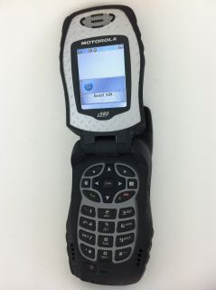Motorola i580 Nextel Rugged PTT Flip Phone w Bluetooth 1MP Camera