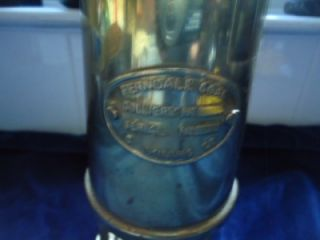 Ferndale Coal Mining Co Brass Miners Lamp Collectable