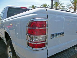 2002 2006 Ford Ranger Chrome Tail Light Covers