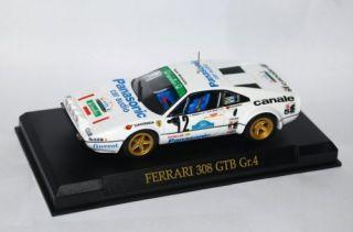 Car FERRARI 308 GTB GR 4 12 1 43 Rare Official Licensed Serial Number