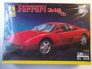 FERRARI 348 tb RARE Model Kit SEALED 1 24 SCALE True Vintage QUALITY