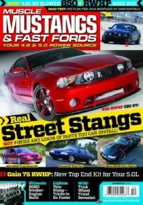 New Muscle Mustangs and Fast Fords December 2011 Magazine Issue 830
