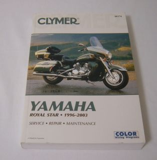 Clymer Yamaha Royal Star Service Maintenance Repair Manual 1996 2003