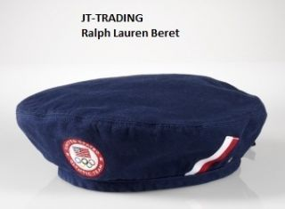 NWT POLO RALPH LAUREN OPENING CEREMONY CAP BERET HAT TEAM USA 2012