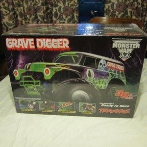 TRAXXAS 1 10 Scale 2WD Grave Digger Monster Jam Radio Control Truck