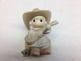 PRECIOUS MOMENTS HALLELUJAH HOEDOWN 163864 EVENT FIGURINE No Box