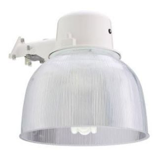65 Watt Outdoor Wall Mount Fluorescent Area Light White 155REN