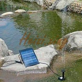 New Outdoor Solar Brushless Water Pump For Pond Rockery Fountain