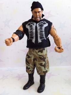WWE Luke Gallows Custom Festus Jakks 2008 Adrenaline Series 32 Action