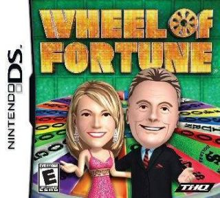 Wheel of Fortune Game Show Pat Sajak Vanna White DS Lite DSi XL 3DS