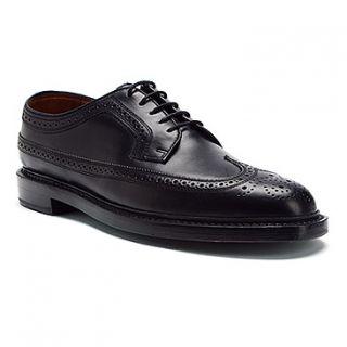 New in Box Florsheim Mens Veblen Wing Tip Dress Shoe Black Leather