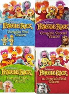 FRAGGLE ROCK~~~TV COMPLETE SERIES~~~SEASONS 1 2 3 4~~~20 DVDS~~~NEW