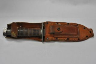 Camillus 1976 Vietnam Survival Military Field Equipment Pilot Knife