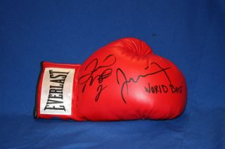 Floyd MAYWEATHER Signed Boxing Glove Auto PSA DNA