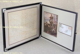 Francis Scott Key Autograph Document Multi Signed