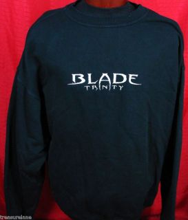 Blade Trinity Film Crew sweat Shirt Jacket XXL Vampires