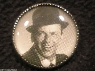 Frank Sinatra Black Hat Shirt Sweater Clothing Button